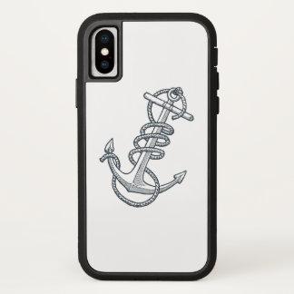 Coque iPhone X Cas de téléphone d'ancre
