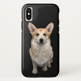 Coque iPhone X Cas de téléphone de corgi