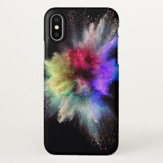 Coque iPhone X Cas de téléphone de coup de poussière