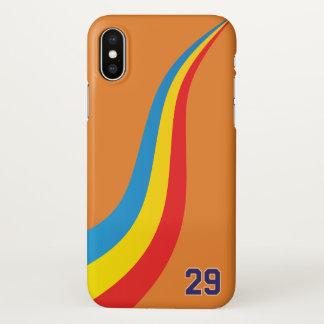 Coque iPhone X Cas de téléphone de Fernando Alonso Indy