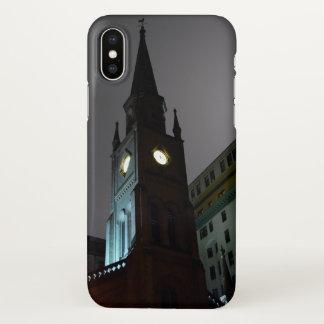 Coque iPhone X Cas gothique de l'iPhone X d'église