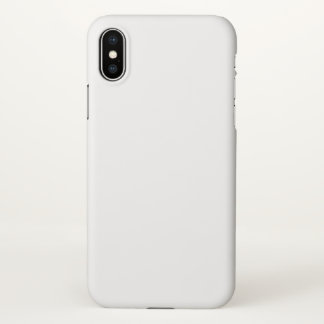 Coque iPhone X Cas mat de l'iPhone X d'Apple