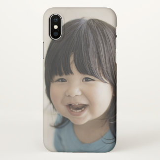 Coque iPhone X Cas mat de l'iPhone X mignon de bébé