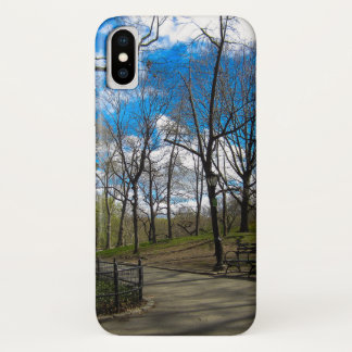 Coque iPhone X Central Park NYC