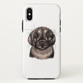 Coque iPhone X Chiot