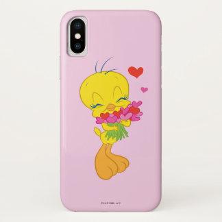 Coque iPhone X Coeurs de Tweety