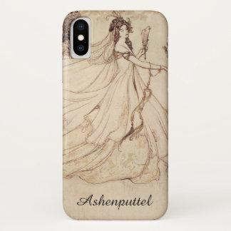 Coque iPhone X Contes de fées vintages, Cendrillon par Arthur