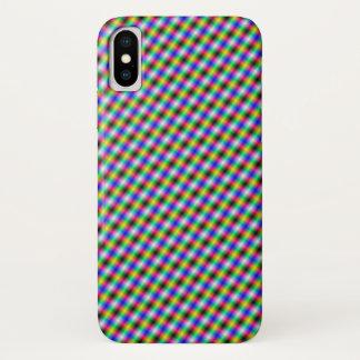 Coque iPhone X Contre-taille en néon