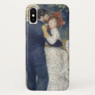 Coque iPhone X Contredanse par Pierre Renoir, beaux-arts vintages