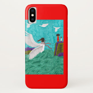 Coque iPhone X Coque-Compagnon de l'iPhone 3G d'Aioga