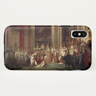 Coque iPhone X Couronnement de napoléon par Jacques-Louis David