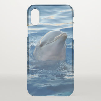 Coque iPhone X Dauphin mignon