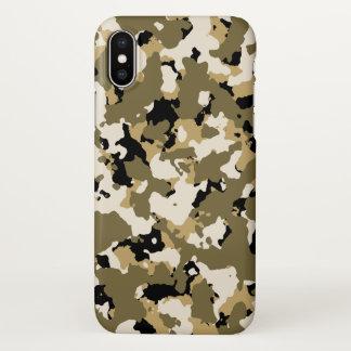 Coque iPhone X Désert Camo
