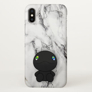 Coque iPhone X Dino noir