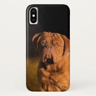 Coque iPhone X Dogue de Bordeaux