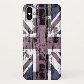 Coque iPhone X Drapeau du Royaume-Uni