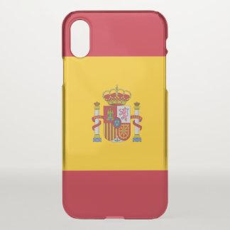 Coque iPhone X Drapeau espagnol
