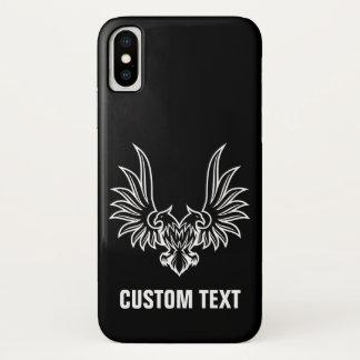 Coque iPhone X Eagle avec deux têtes