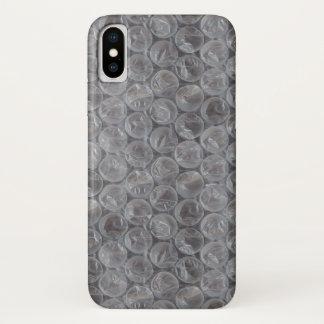 Coque iPhone X Enveloppe de bulle