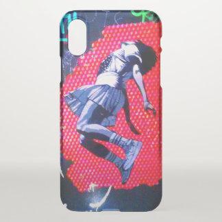 Coque iPhone X Exclusivités GirlLeap de cool d'art de rue de