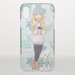 coque iphone x blonde