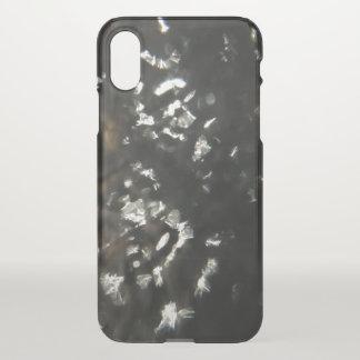 Coque iPhone X Flocons de neige
