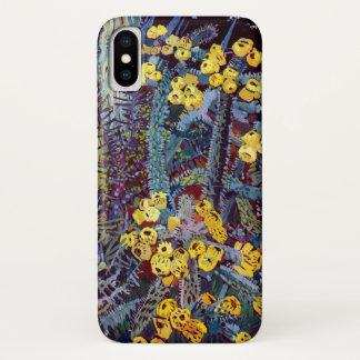 Coque iPhone X Flora exotique #10 chez SunshineDazzle