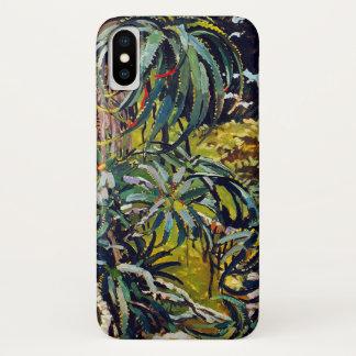 Coque iPhone X Flora exotique #12 chez SunshineDazzle