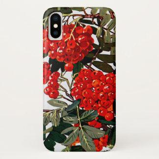 Coque iPhone X Flora exotique #5 chez SunshineDazzle