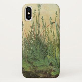 Coque iPhone X Grand morceau de gazon par Albrecht Durer, art