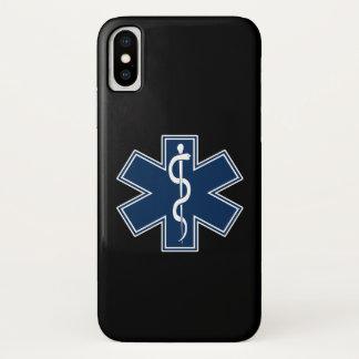 Coque iPhone X Infirmier EMT SME