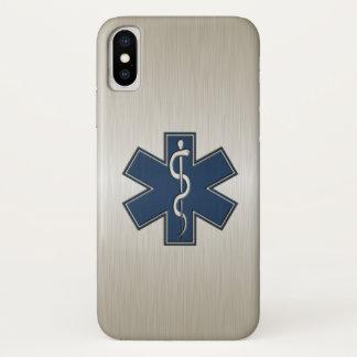 Coque iPhone X Infirmier EMT SME de luxe