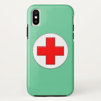Coque iPhone X Infirmière