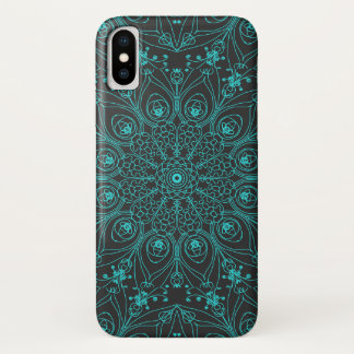 Coque iPhone X Inspirations de paon