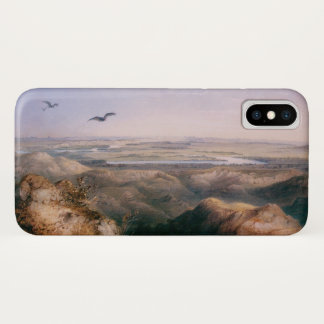 Coque iPhone X Jonction du Yellowstone et du Missouri par Bodmer