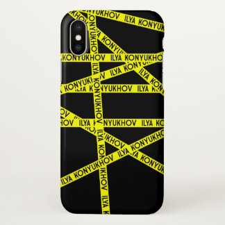 Coque iPhone X Konyukhov