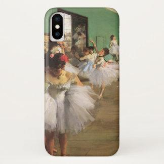 Coque iPhone X La classe de danse dégazent par, ballet vintage