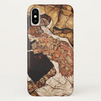 Coque iPhone X La mort et la jeune fille par Egon Schiele