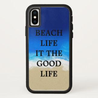 Coque iPhone X La vie de plage