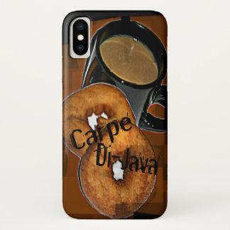 Coque iPhone X Le café et les butées toriques de Carpe Di-Java