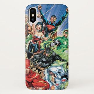 Coque iPhone X Les nouveaux 52 - ligue de justice #1