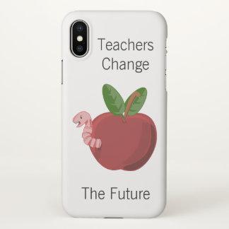 Coque iPhone X Les professeurs changent l'avenir