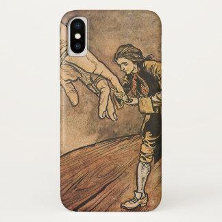 Coque iPhone X Les voyages vintages de Gulliver par Arthur