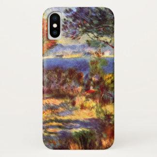 Coque iPhone X L'Estaque par Pierre Renoir, impressionisme