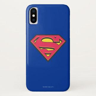 Coque iPhone X Logo classique du S-Bouclier   de Superman