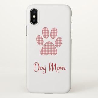 Coque iPhone X Maman de chien