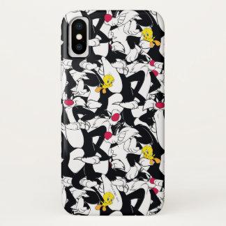 Coque iPhone X Motif de SYLVESTER™ et de TWEETY™