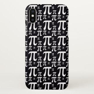 Coque iPhone X Motif noir et blanc de pi