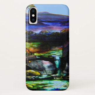 Coque iPhone X Nature en verre de tache
