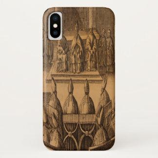 Coque iPhone X Pape Clement d'Episcoporum de 1651 cérémonials